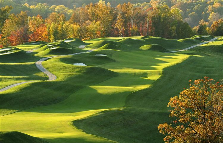 Pete Dye Course at French Lick, Golf Courses at French Lick Resort