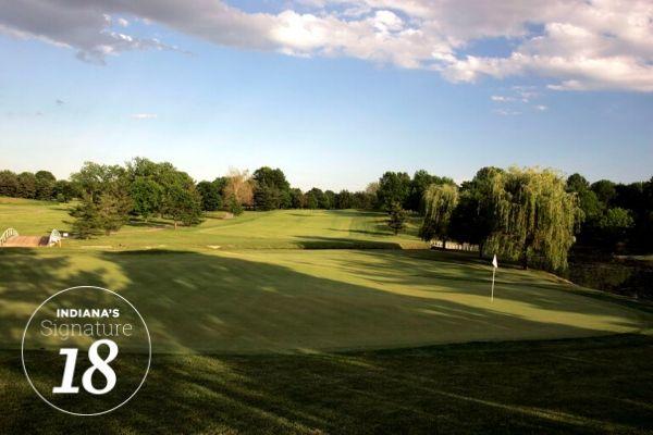 Otter Creek Golf Course, Hole #1