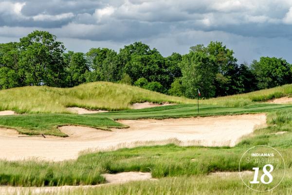 Hole 17 at Purgatory Golf Club
