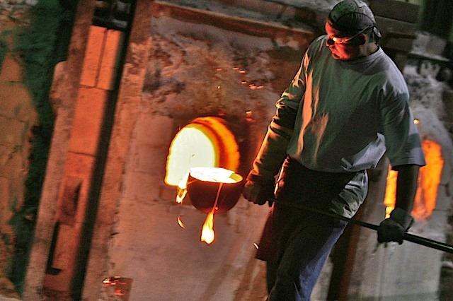 Kokomo Opalescent Glass Factory, Kokomo Golf Trip