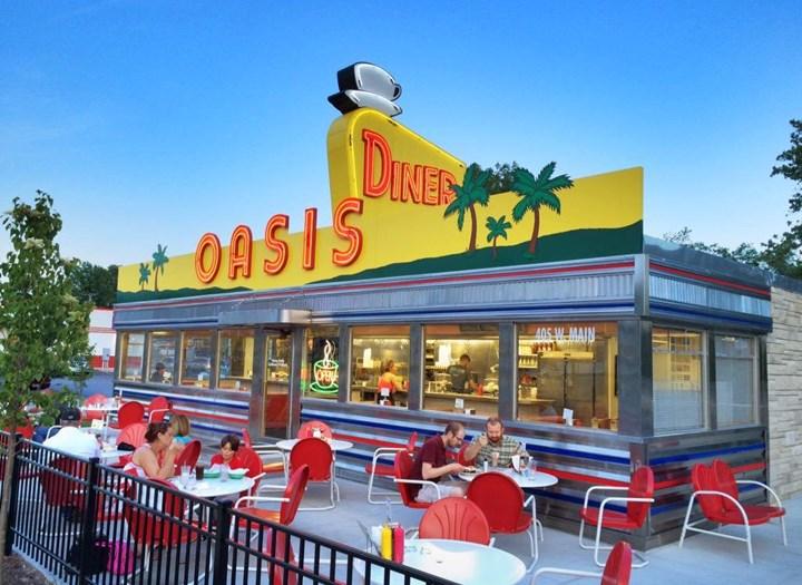 Oasis Diner, Indy Golf Trip